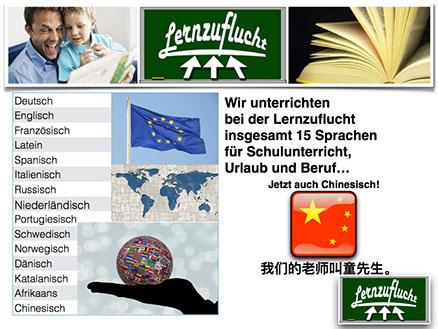 15 Sprachen bietet die Lernzuflucht Hagen in der Nachhilfe und in Sprachkursen.