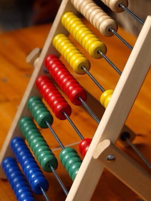 Abakus, Rechenschieber für Mathematik