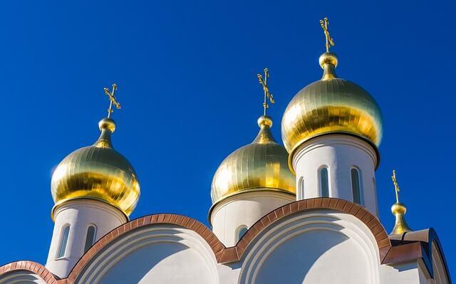 Kuppeln in Moskau