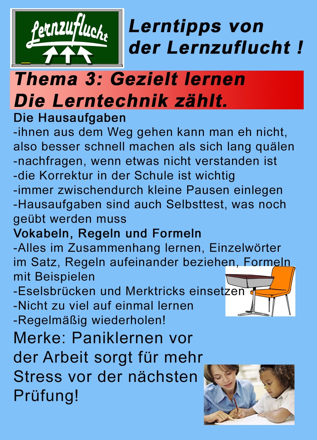Nachhilfe Hagen Lernzuflucht Lerntipps