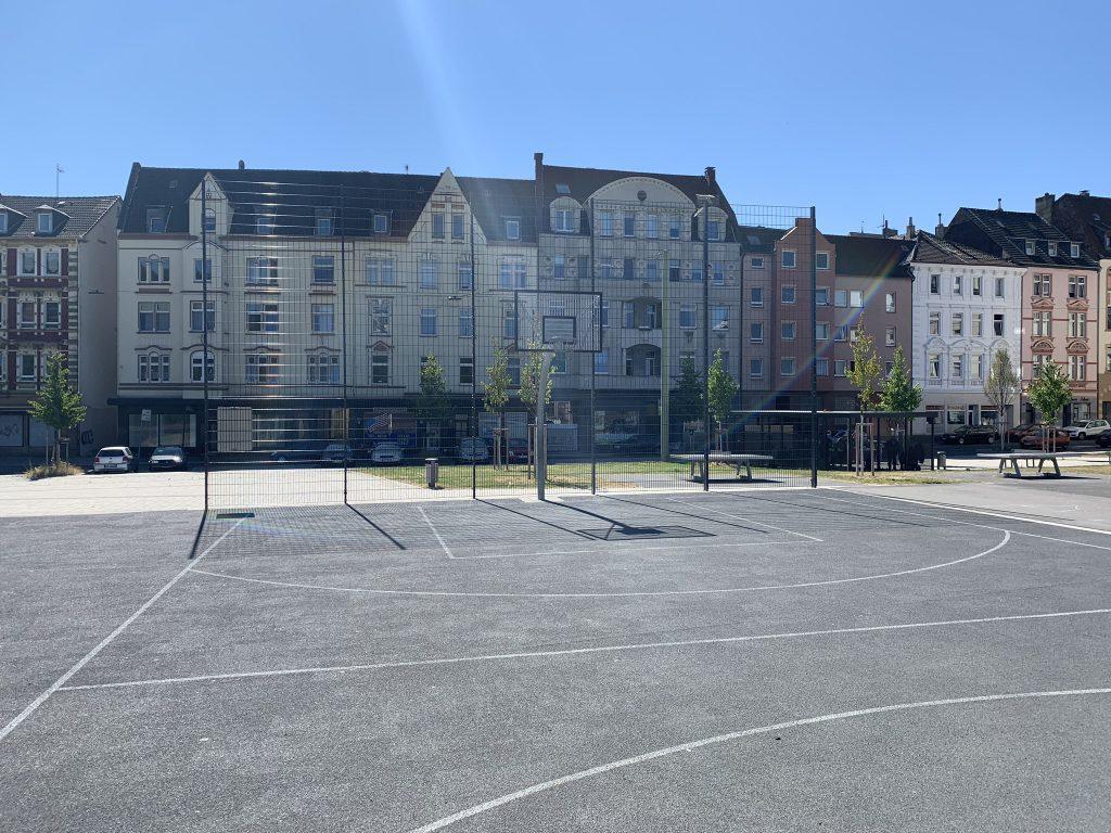 Nachhilfe Wehringhausen, Outdoor Basketballcourt