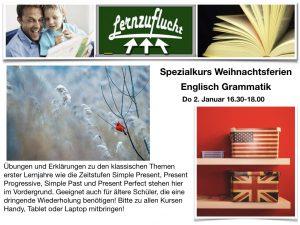 Englisch Grammatik @ Lernzuflucht Hagen