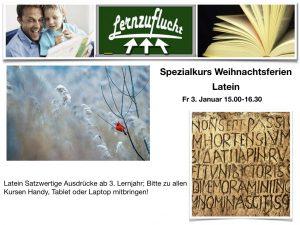 Latein Satzwertige Ausdrücke @ Lernzuflucht Hagen