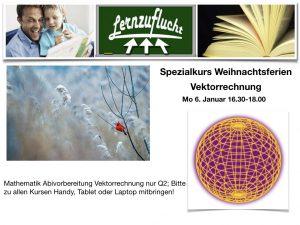 Vektorrechnung @ Lernzuflucht Hagen