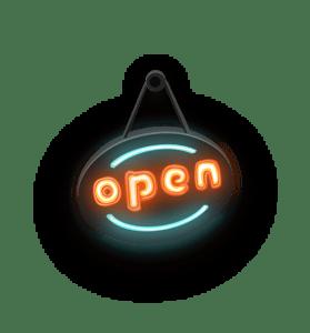 Lernzuflucht Hagen Nachhilfe open Schild